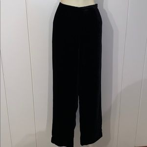Preston & York black velvet pants
